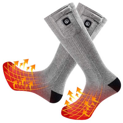 Snow Deer Rechargeable Heated Socks