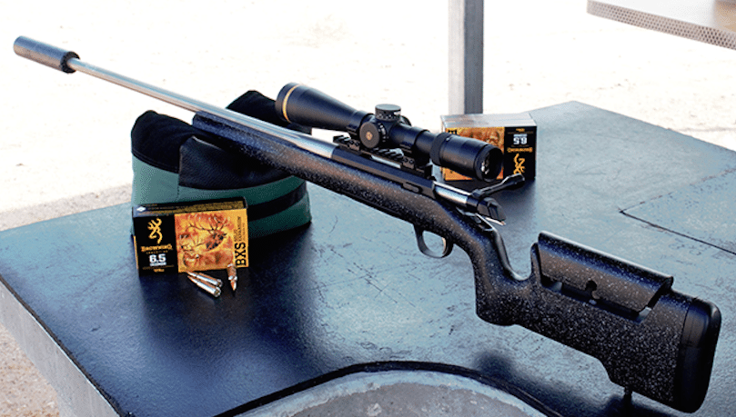 x-bolt browning max long range with ammunition