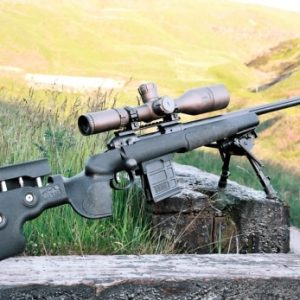 Creedmoor Rifle with scope
