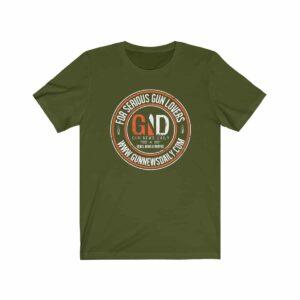 gnd for serious gun lovers shirt 21