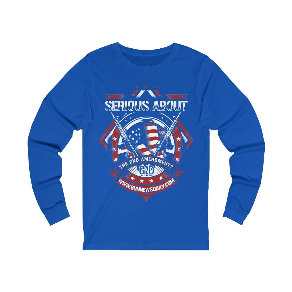 gnd for serious gun lovers shirt 38