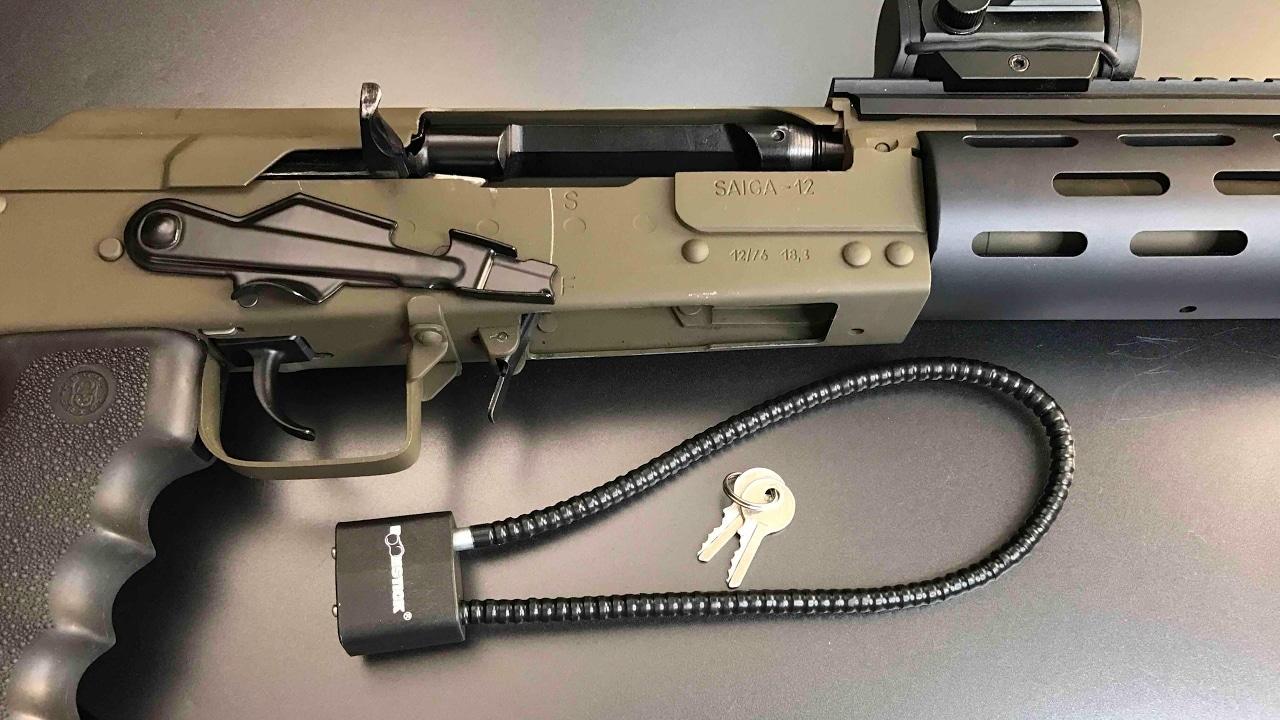 saiga 12 rifle