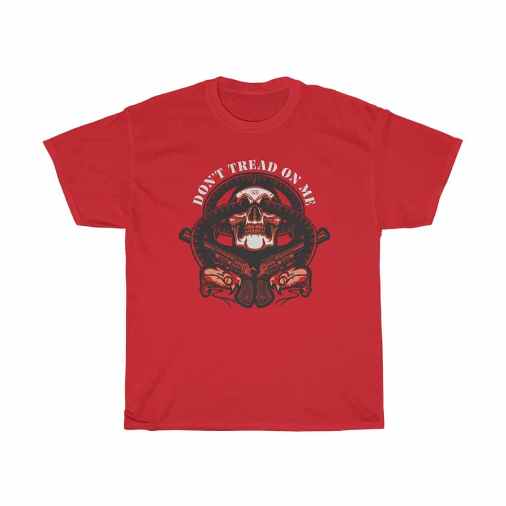 DTOM shirt red