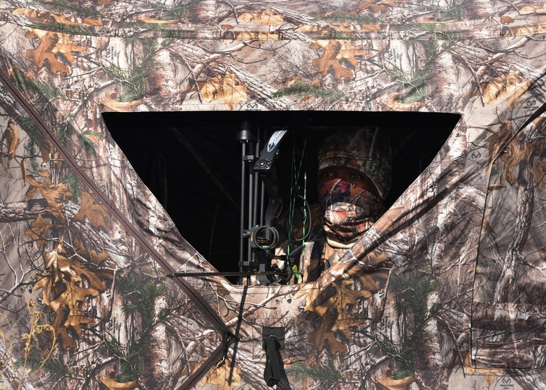 ground blind for hunting
