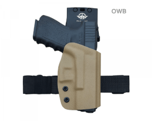 image of kydex owb holster