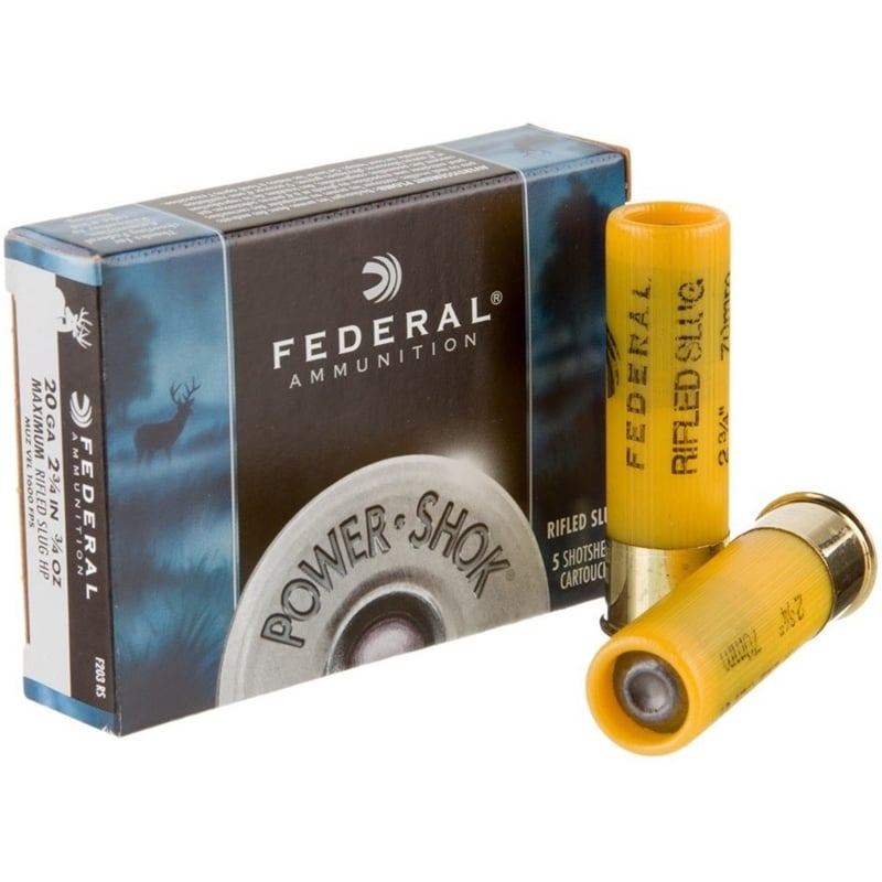 image of Federal Power-Shok ammo
