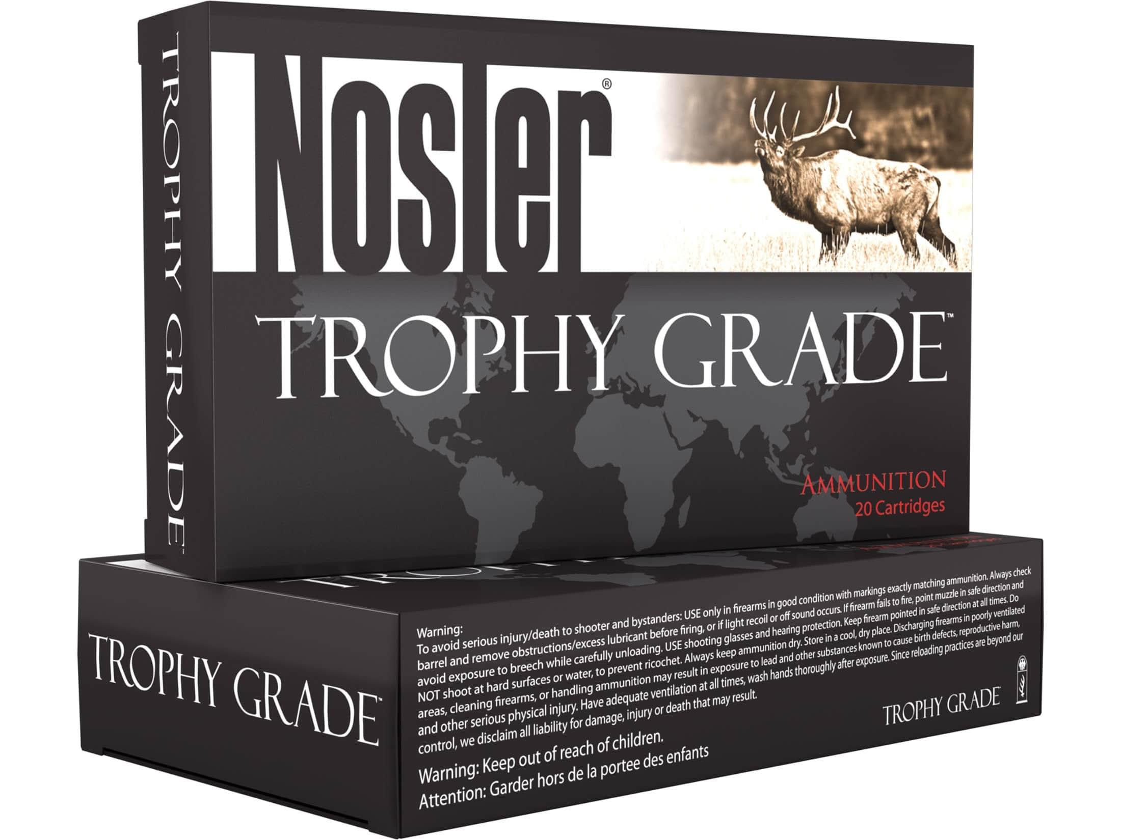 image of Nosler Trophy Grade ammo
