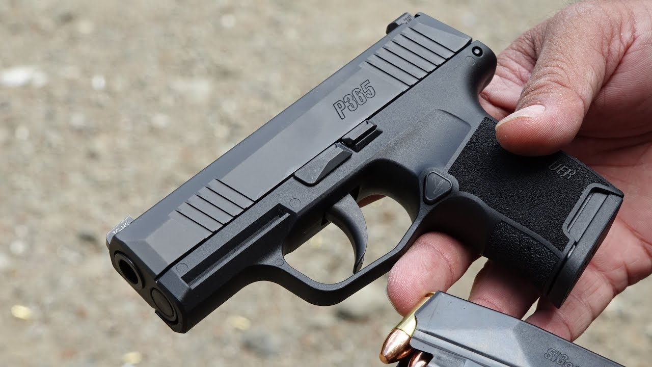The Best Holsters for the SIG Sauer P365