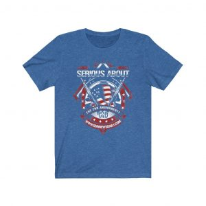 serious bout tshirt blue color
