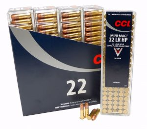 a picture of .22LR CCI MiniMag ammo