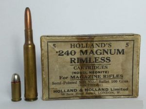 a picture of .240 Apex ammo