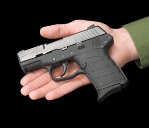 Kel-Tec PF-9 in hand