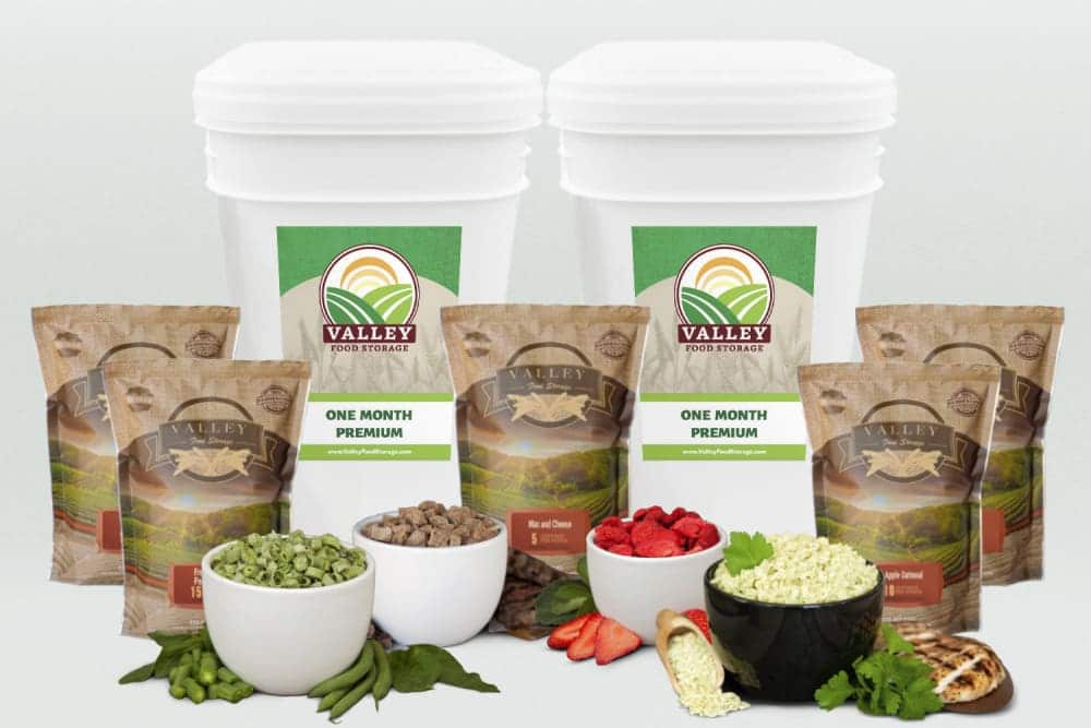 Valley Food Storage products
