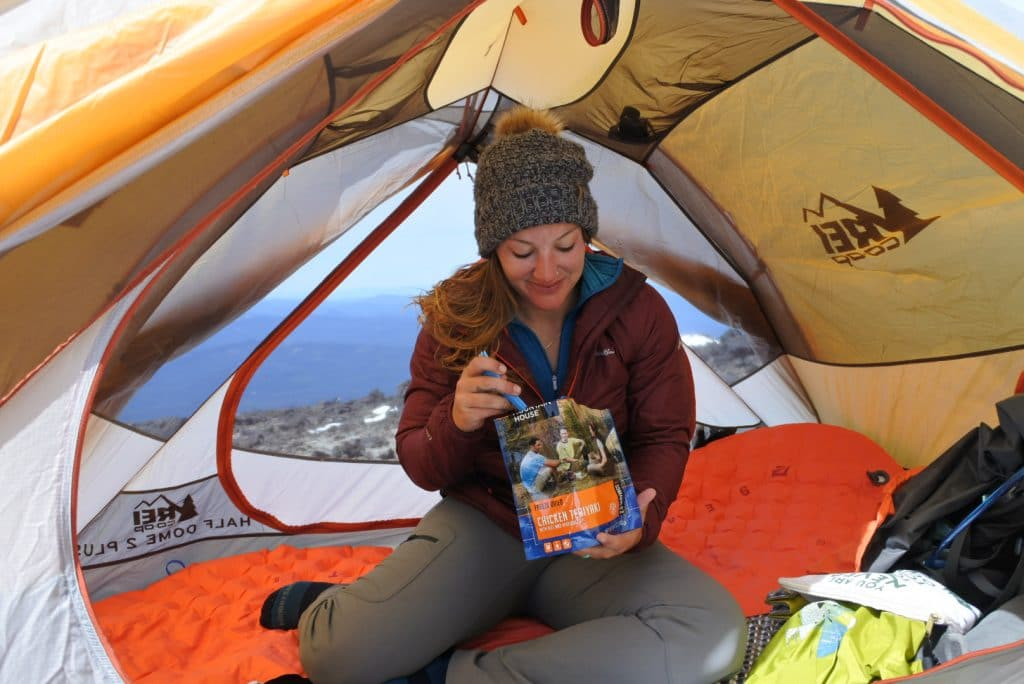 mountain house food pack