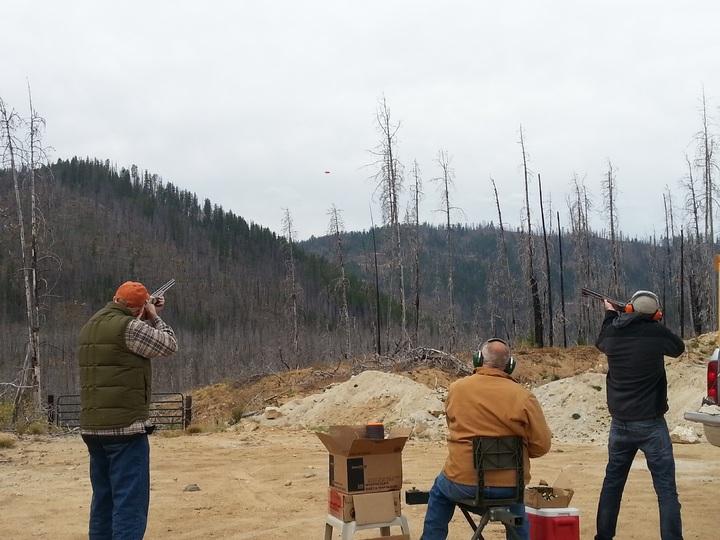 skeet shotgun shooting