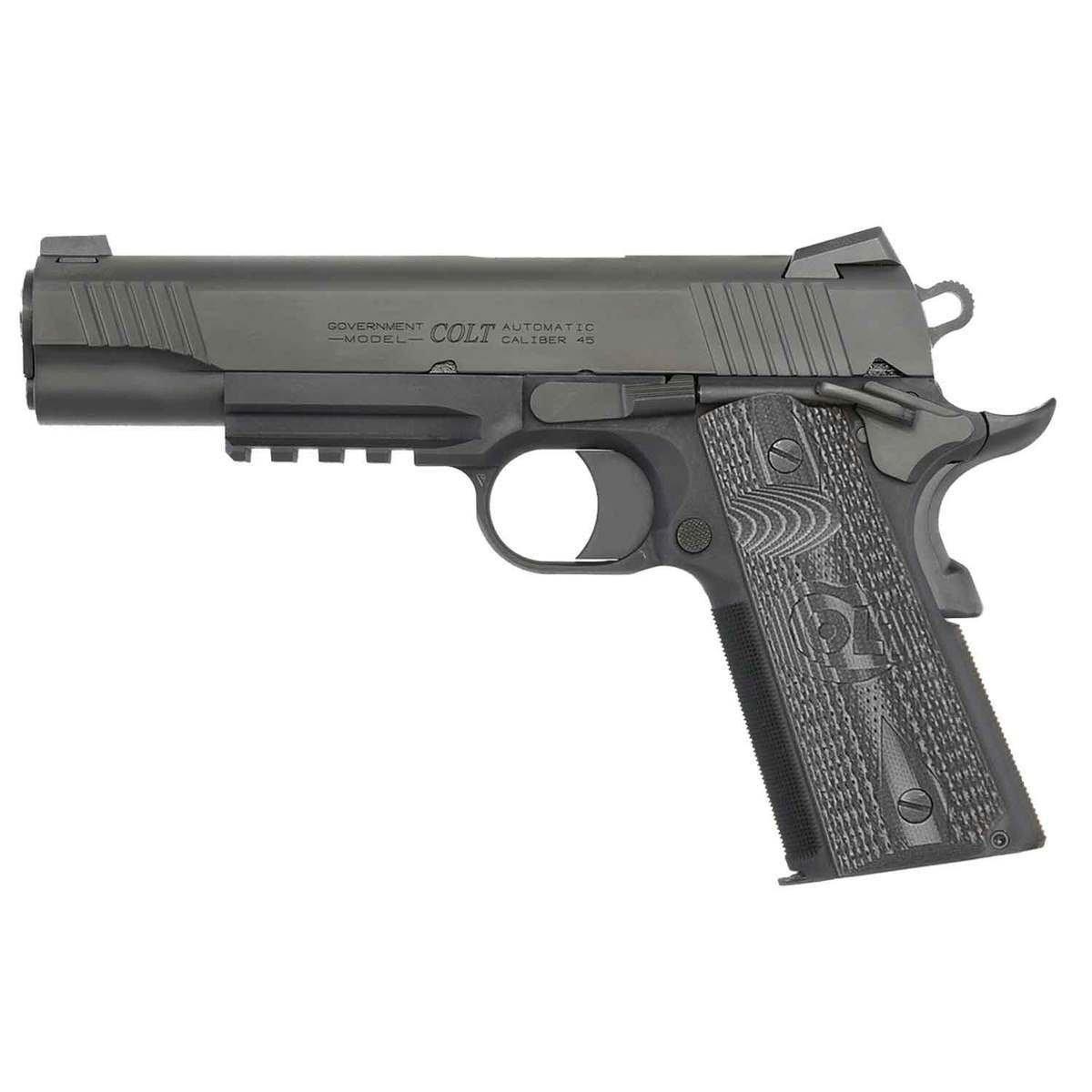 image of Colt Combat Unit Rail 1911 Pistol