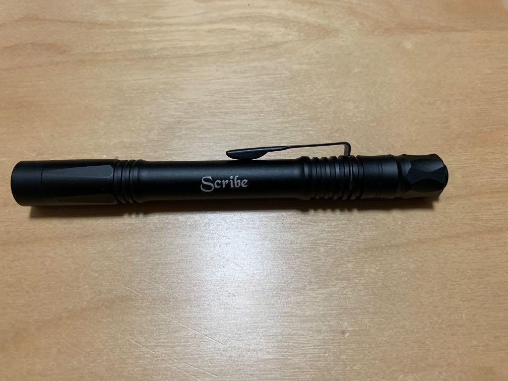 asp scribe flashlight tactical