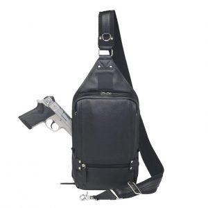 image of Concealment Sling Backpack by Gun Toten Mamas