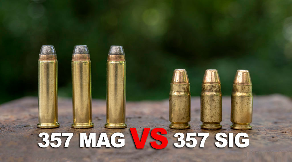 357 Sig vs 357 Magnum