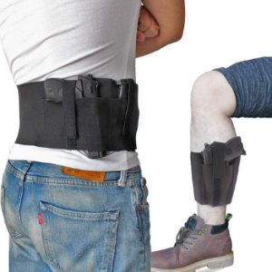 Bundle of Belly Band + Ankle Holster, Concealed Carry