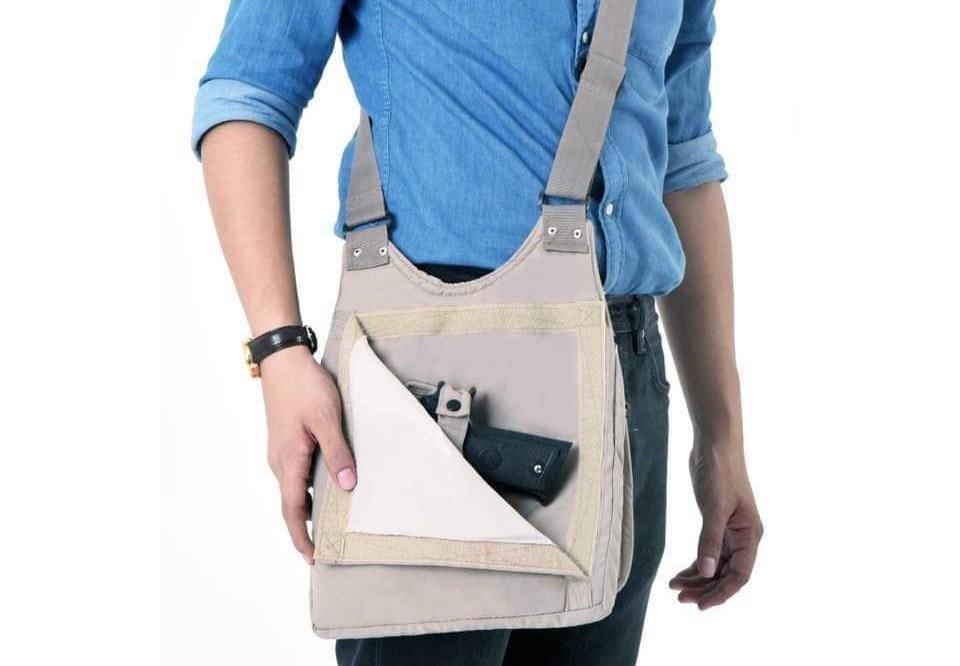 Concealed Carry Messenger Bag
