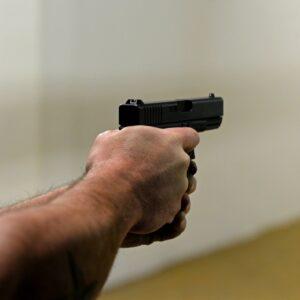 Firing a Glock 20 Gen 4