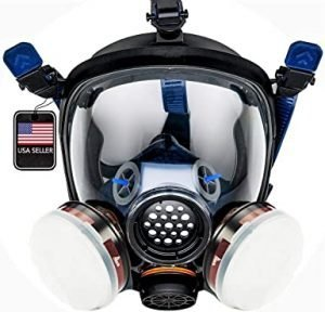 Full Face Organic Vapor Chemical and Particulate Respirator