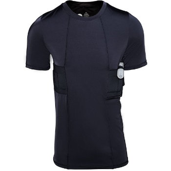 image of Graystone Concealable Holster T-Shirt for Men