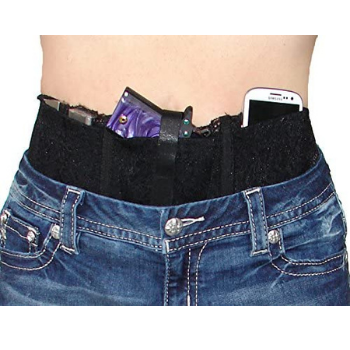 image of Hidden Heat Lace II-Ladies Lace Waistband Concealed Carry Gun Holster