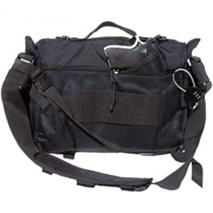 Messenger Bag with Concealed Carry Pistol Pouch by FirstChoice