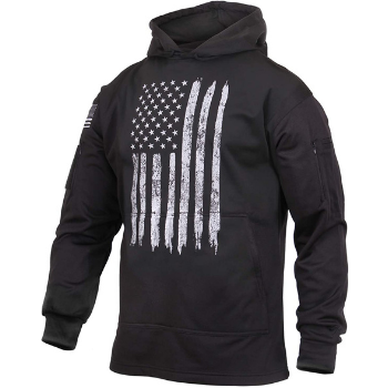 image of Rothco U.S. Flag Concealed Carry Hoodie