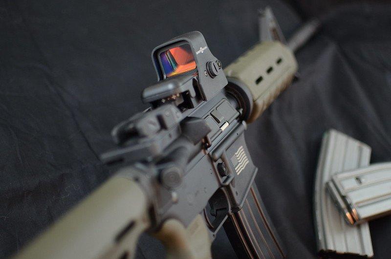 ar15 with sight