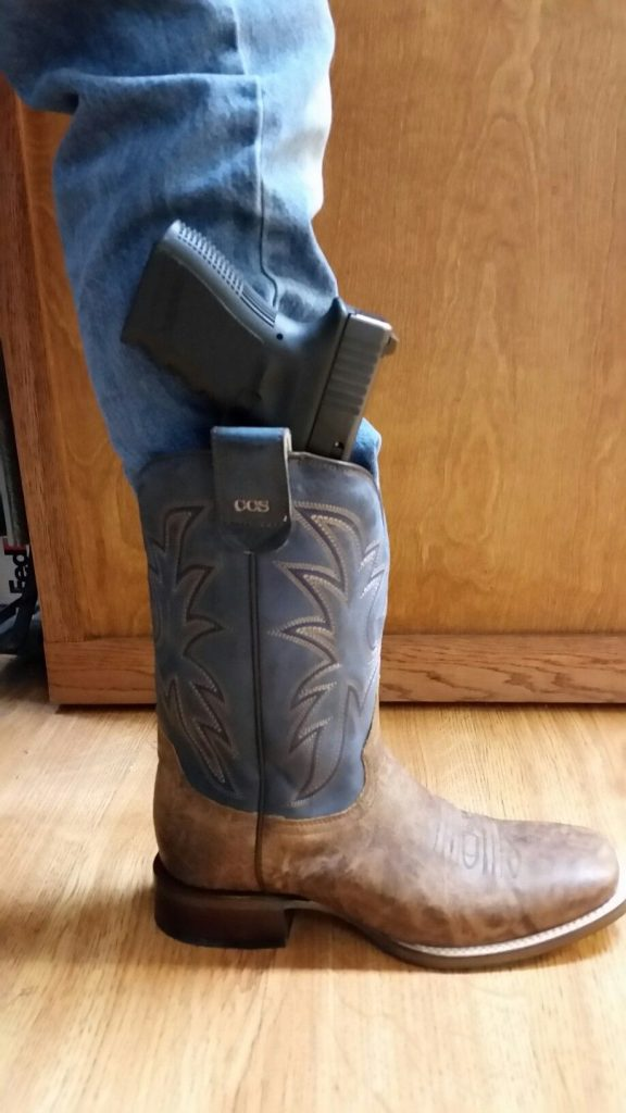 roper concealed carry boots