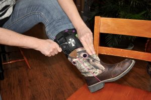 wearing concealed carry boots
