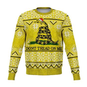 Don't Tread On Me Ugly Christmas Sweatshirt Jumper
